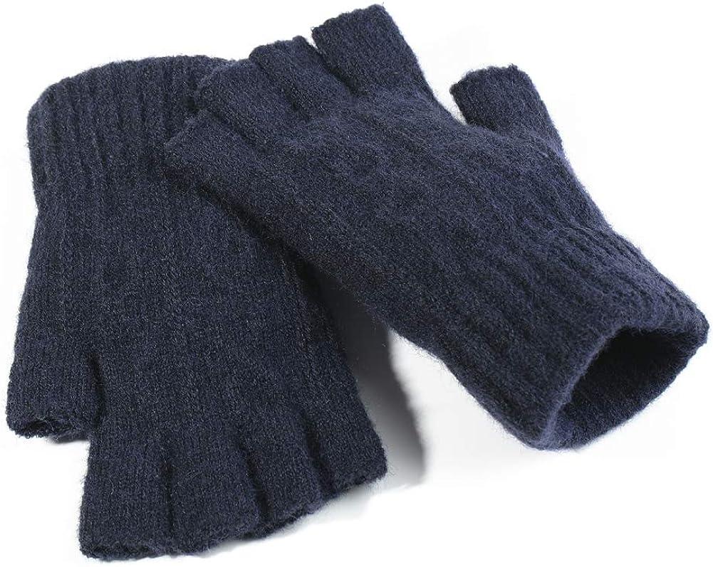 Knit GlovesUnisex Winter...