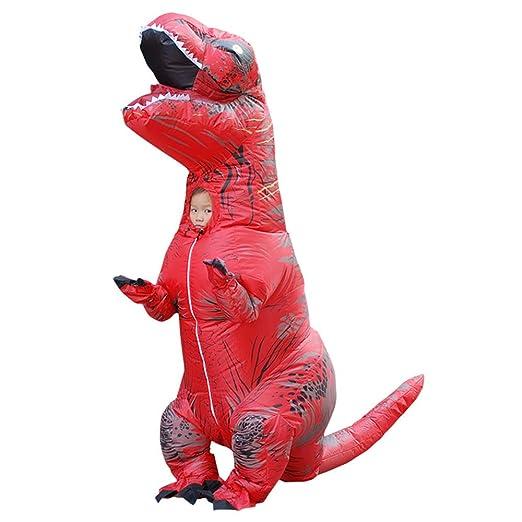 Disfraz hinchable de dinosaurio de Halloween, traje de ...
