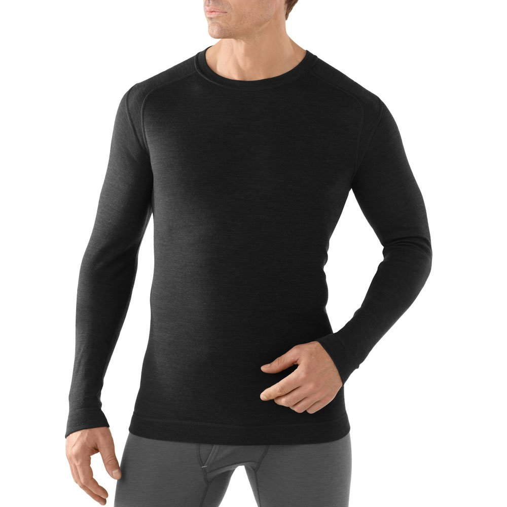TALLA M. SmartWool NTS Mid 250 Crew - Camiseta Interior para Hombre