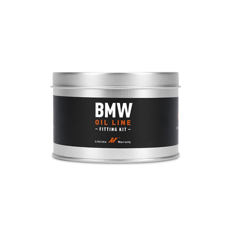 Mishimoto Black MMOCF BMW E36//E46//E90 Oil Line Fitting Kit