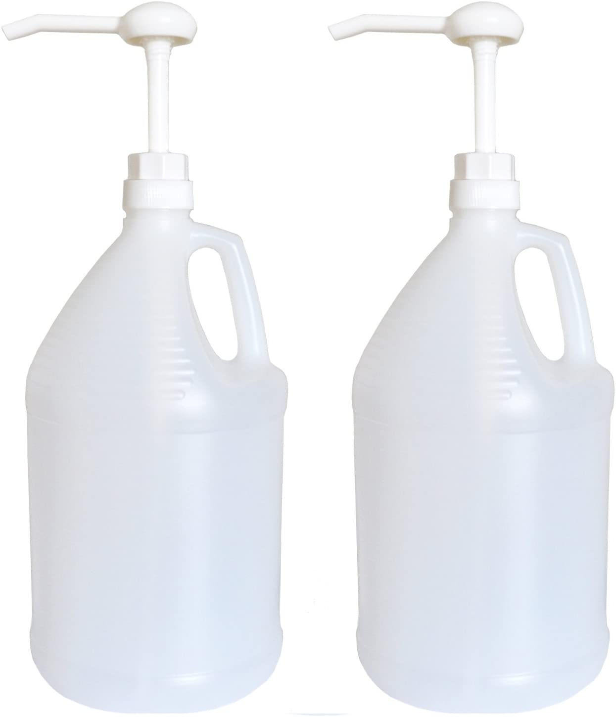 Gallon Jug with Pump, Pack of 2