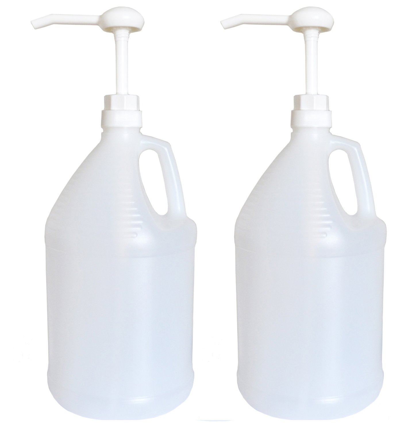 Gallon Jug with Pump, Pack of 2 by nicebottles