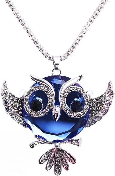 Necklace pendant owl