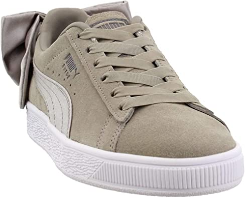 Amazon.com   PUMA Womens Suede Bow Casual Sneakers,   Shoes