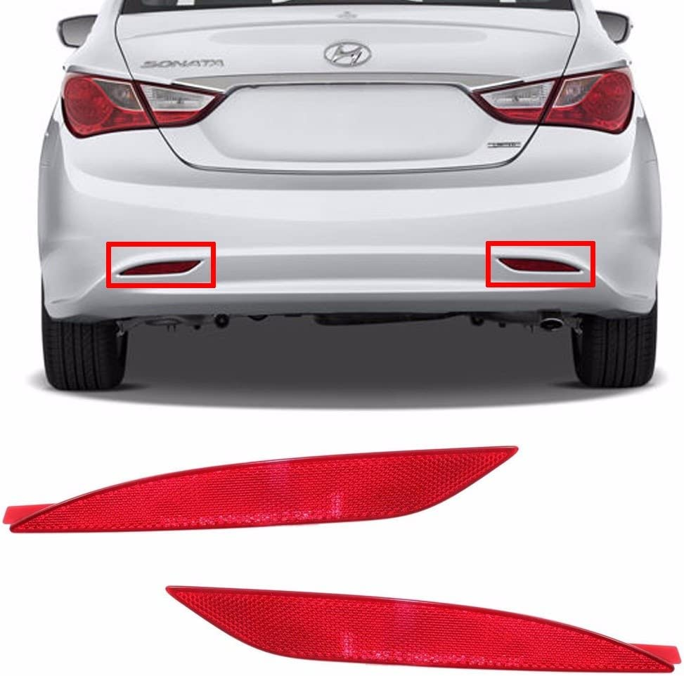 Bumper Reflector For 2014-2016 Hyundai Elantra Sedan Rear Right