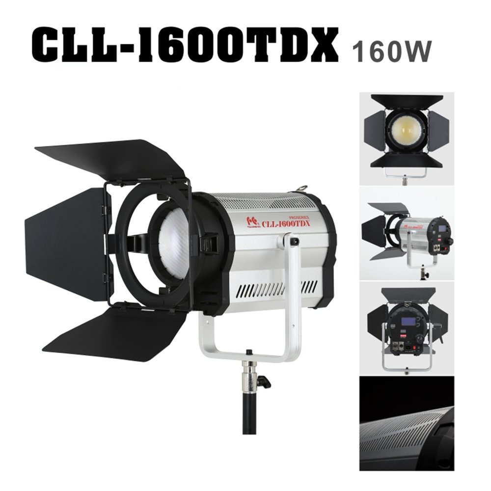 FalconEyes 3000k~8000k 160W 無段階調節可能 スポットライト 撮影用ライト LCD&タッチパネル付き DMXシステム CLL-1600TDX   B074P2PZ2F