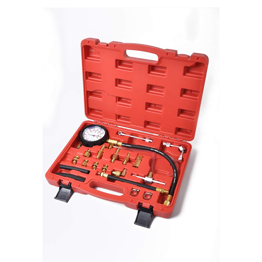 Metermall Accessoires Outils de Voiture de kit de jauge dappareil de contr/ôle de Pression de Pompe dinjection dinjecteur de Carburant
