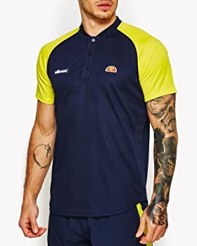 Ellesse Hawk Polo de Tenis, Hombre, (peacvyello), S: Amazon.es ...
