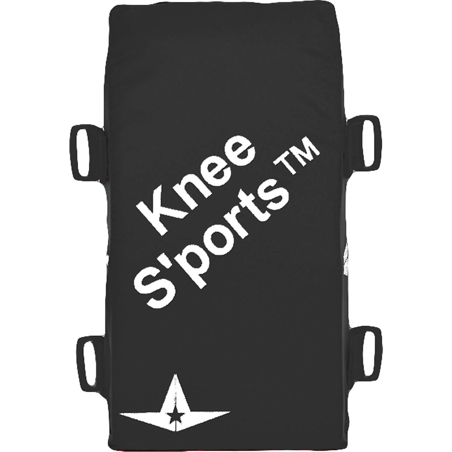 All-Star Youth Knee S-Ports Knee Pads Black