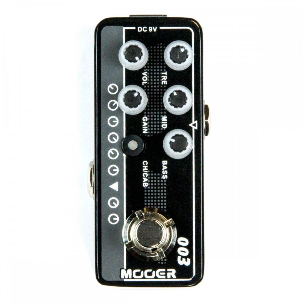 Mooer Micro Preamp 003 Power-Zone w/Bonus RIS Pick (x1) 6943206792123