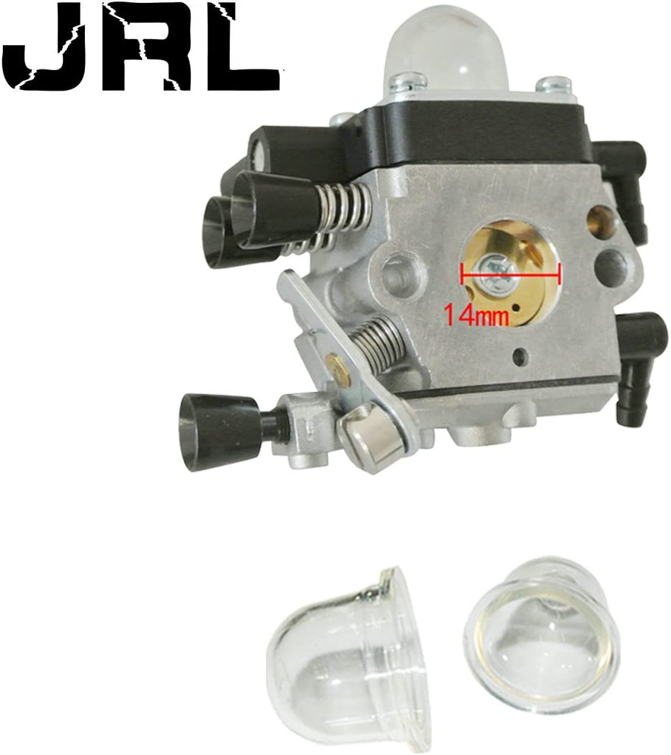 JRL Carburetor C1Q-S202B Zama With Primer Bulbs For Stihl MM55 Tiller Trimmer