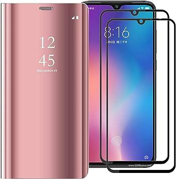 XIFAN Funda para Xiaomi Mi 9 SE, Elegante Espejo Brillante ...