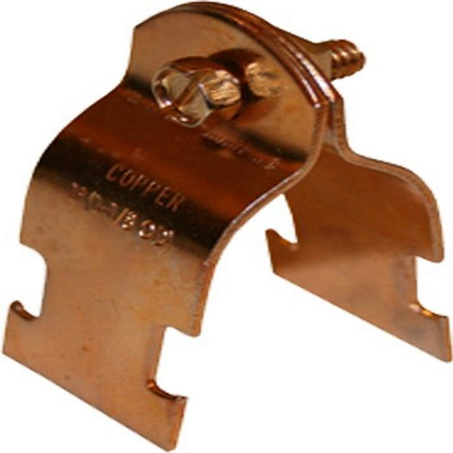 10-Pack Plumbers Choice 89013 1//2-Inch Copper Clamps