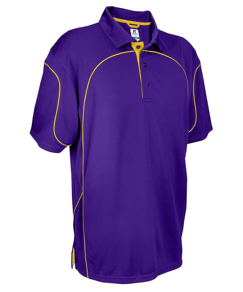 Russell Athletic Mens 434CFM Team Prestige Polo Shirt