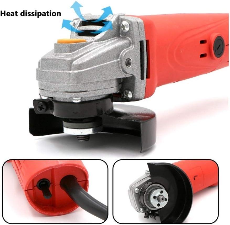 JYSLI Cutting 1080W 11000r/min Electric Angle Grinder for DIY Grinding Sanding Cutting Metal Polishing Machine Polisher Power Tool popular (Color : Grinder tool) Grinder Tool