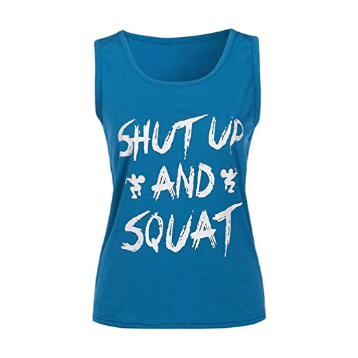 aa06eb36300 Image Unavailable. Image not available for. Color  TATGB Women Workout Tank  Top T-Shirt - Gym Clothes Fitness Yoga Lift