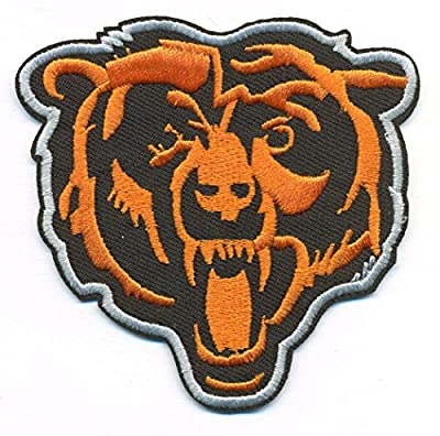 Chicago Bears Logo Football NFL Embroidered Iron On Patch Hat Jersey