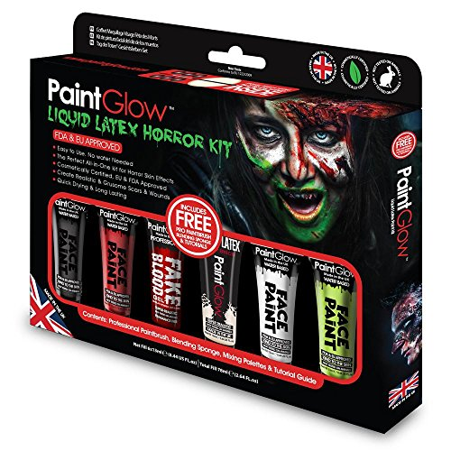 PaintGlow (GS028) Gift-Set: Liquid Latex -
