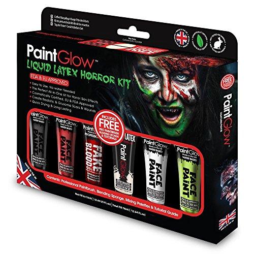 PaintGlow (GS028) Gift-Set: Liquid Latex -