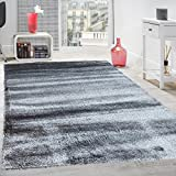 Gloria Rug Super Soft Indoor Modern Shag Rug Silky Smooth Rugs Fluffy Shaggy Area Rug – Stain Resistant Dining Room Home Bedroom Living Room Carpet (8 x 10, Solid Gray) Review