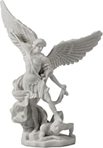 Saint Michael Archangel Slaying Demon Statue