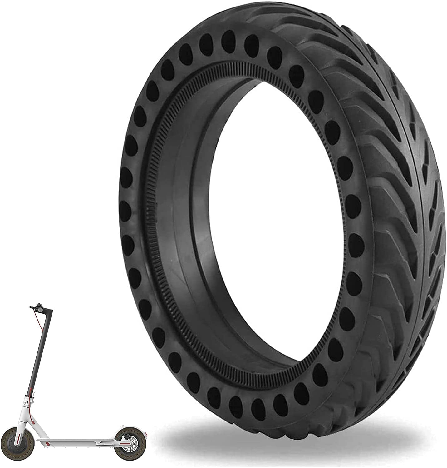"""Replacement Tire 8.5 /"""" Inner Outer Tube Tire Rubber Electric Scooter for M365"""