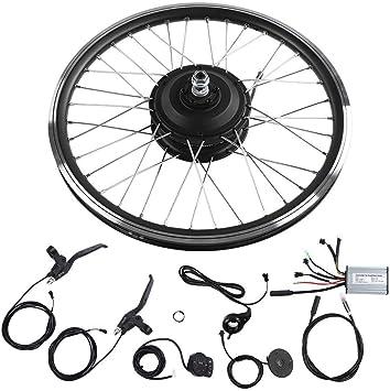 Kits de conversión de Bicicleta eléctrica 36V/48V 350W, Pantalla ...