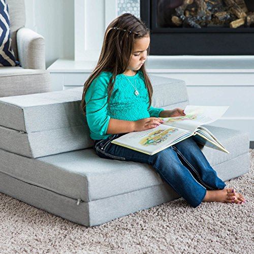 Lucid 4 Inch Folding Mattress And Sofa With Removable