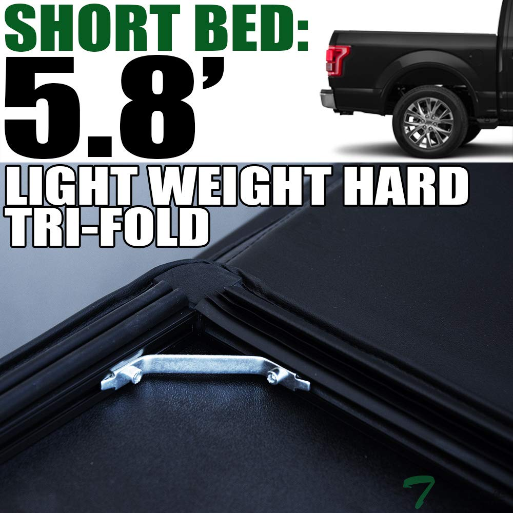 Exterior For 2019 Dodge Ram 1500 5 7 68 4 Bed Hidden Snap On Soft