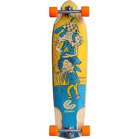 Comet Skateboards Voodoo XL Stacked Complete Longboard Skateboard - 10.25' x 39'