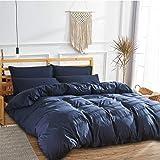 布団カバー 3点セット セミダブル 寝具カバーセッ 暖かい 冬用 肌触り良い 快眠 寝心地よい 掛け布団カバー ボックスシーツ 枕カバー 丸洗い速乾 洗い替え用 ブルー
