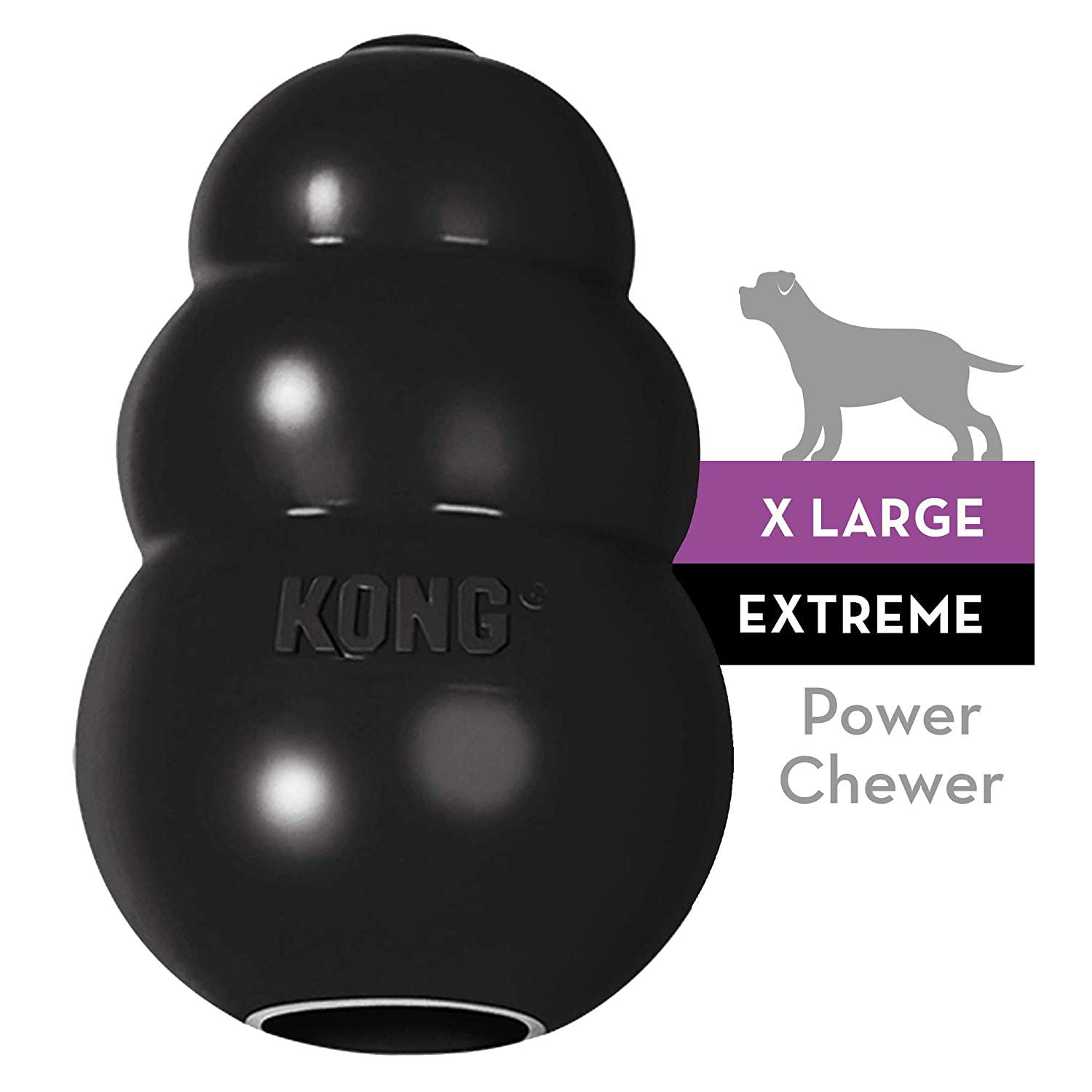 HDP Kong Extreme Dog pet Toy Dental chew