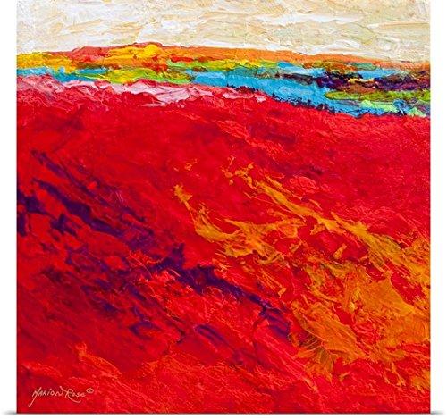 Marion Rose Poster Print entitled Abstract Landscape IV