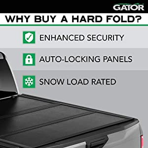 Gator Efx Hard Tri Fold Truck Bed Tonneau Cover Gc34008 Fits 2019 2020 Dodge Ram 1500 New Body Style 5 7 Bed W Out Rambox Made In The Usa Tamano 5 7 Bed