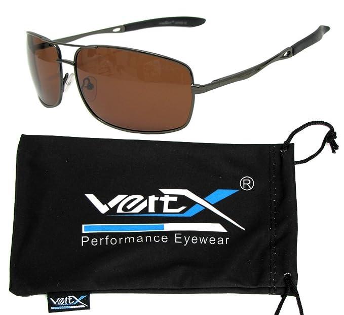 VertX - Occhiali da sole - Uomo bronzo Gun Metal Frame - Smoke Lens iaeGPkR4R