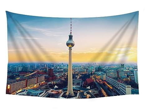 Amazon.com: Fernsehturm Berlin TV Tower Alemania ...