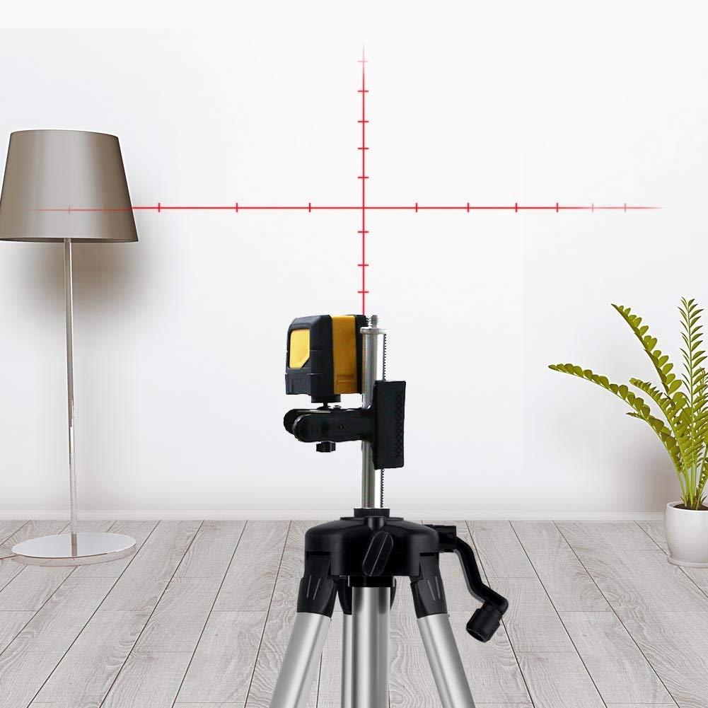 Support de niveau de tr/épied 1,2M pour outil de mesure de niveau laser /à mise /à niveau automatique Support de niveau laser