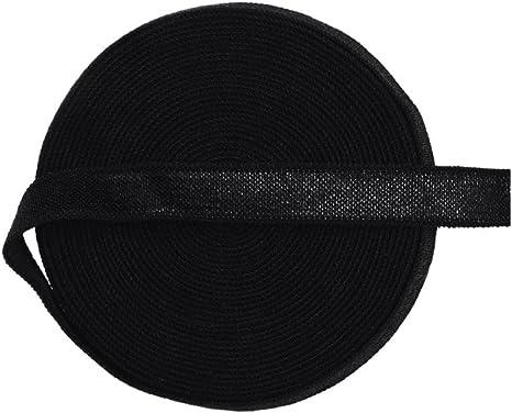 "8 Yard 3//8/"" Shiny Satin Elastics Spandex Bands Headband Bra Strap Dress DIY Trim"