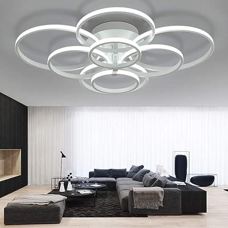 LED Lámpara de techo moderna,ONLT LED Iluminación de techo Baño Cocina Dormitorio Balcón Corredor Oficina Comedor Sala de Estar,Iluminación ...