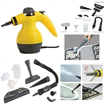 pressurized steam cleaning and sanitizing system with attachments great handheld steam cleaner