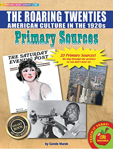 GALVJ The Roaring Twenties (American Culture in The 1920s) Primary Sources Pack (9780635131638) ()