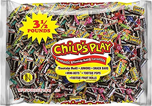 Tootsie Child's Play Variety Candies Pack, 3.5 Lb. - 2 pack