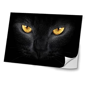 Cats 10034 Black Cat Skin Sticker Decal Protective Cover Vinyl With Leather  Effect Laminate And Colorful 3388450f7bbcd