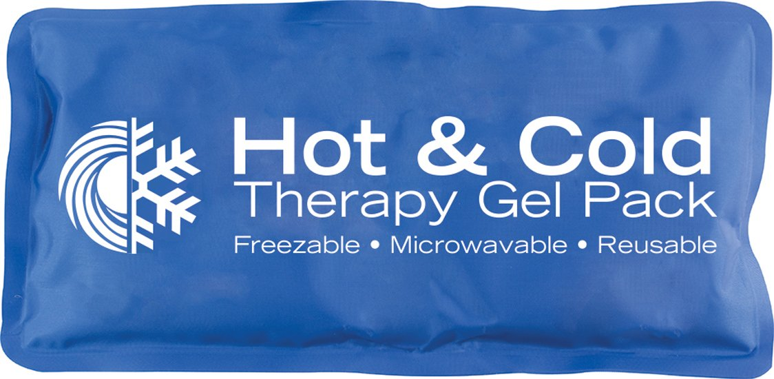 """Hot & Cold Reusable Gel Pack, 5"""" x 10"""""""