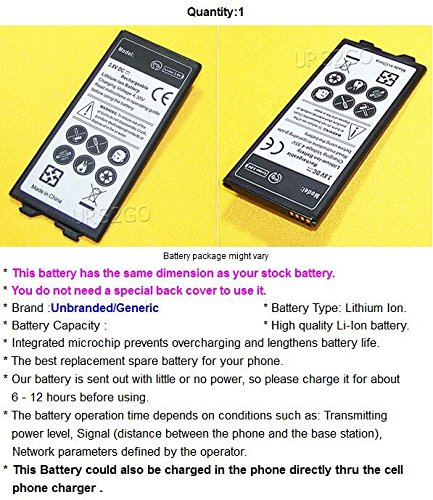 [Long Lasting] 3550mAh Spare Extra LG G5 Replacement Li-Ion Battery for U.S. Cellular LG G5 US992 Android Phone - USA Seller