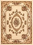 Well Woven Timeless Le Petit Palais Ivory Traditional Area Rug 9'2'' X 12'6''