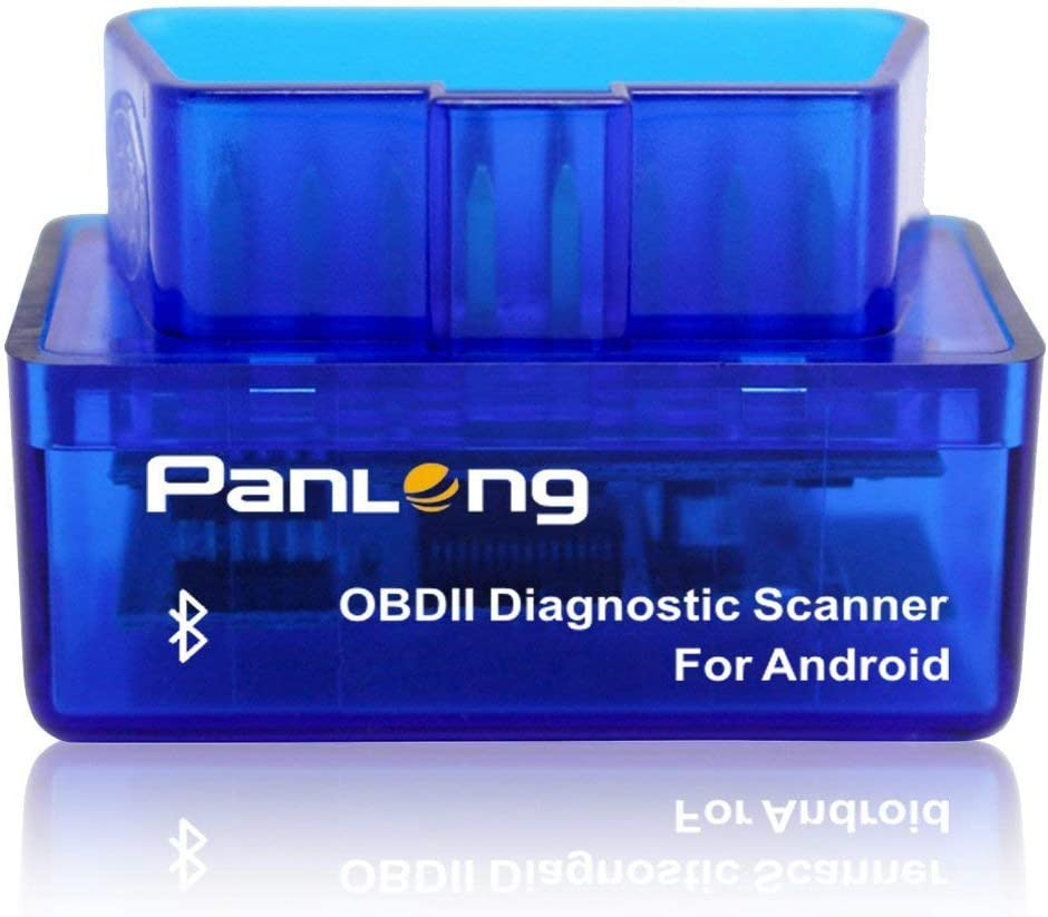 OBD2 OBDII Check Engine Light for Android - Compatible with Torque Pro Panlong PL-B02 Bluetooth Car Diagnostic Scanner Code Reader