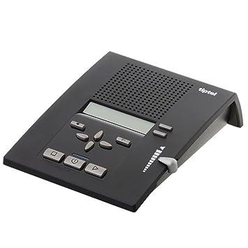 e2ae8bffd59 Tiptel 333 - Contestador automático con pantalla (4 respuestas,  visualización de número, aviso de mensajes, función de escucha, dictado y  grabación): ...