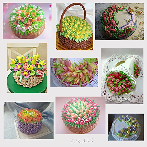 Russian Piping Tips Set Reusable Cake Decorating Icing ...