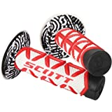 Scott Sports 219626-1005 Red/White Diamond Motorcycle Grips